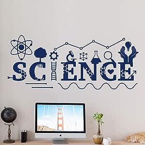 shiyueNB Química ADN Calcomanía de Pared Ciencia Pegatinas de ...