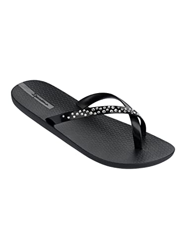 4eb667428 Ipanema Black Flip-Flops Premium Crystal from Swarovski  Amazon.co.uk   Shoes   Bags