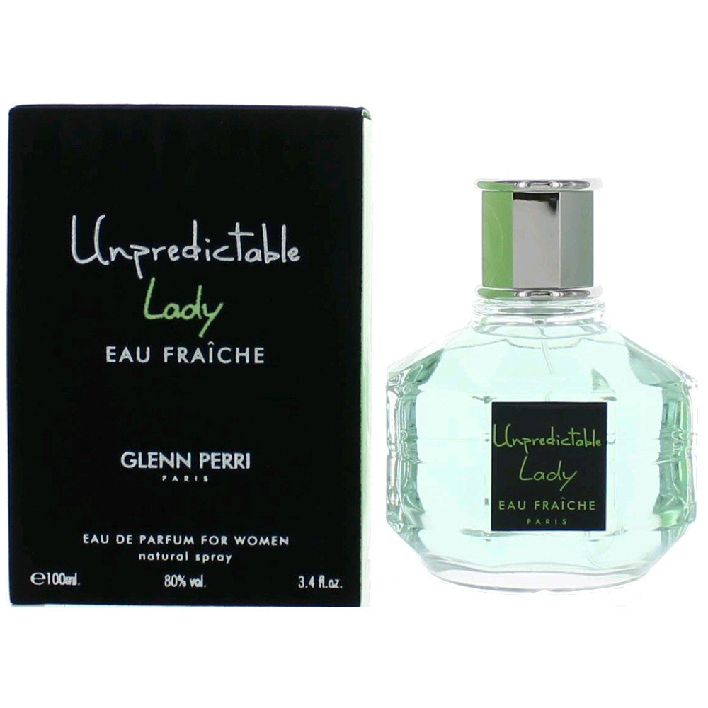 Glenn Perri Unpredictable Lady Eau Fraiche Eau De Parfum Spray for Women, 3.4 Ounce by Glenn Perri