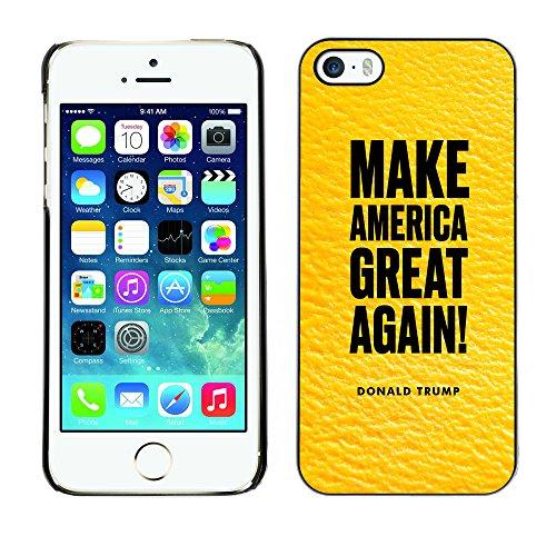 Print Motif Coque de protection Case Cover // Q04060540 Donald Trump America mangue // Apple iPhone 5 5S 5G