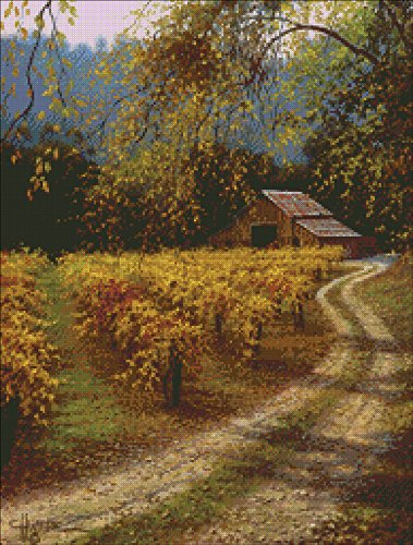 MCG Textiles After The Harvest Counted Cross Stitch Kit-16