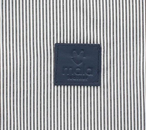 Borsa Afferrare Harper Grigio In Blu Pelle 779 Di Male Collezione 80 Borse q1Oa8wUg