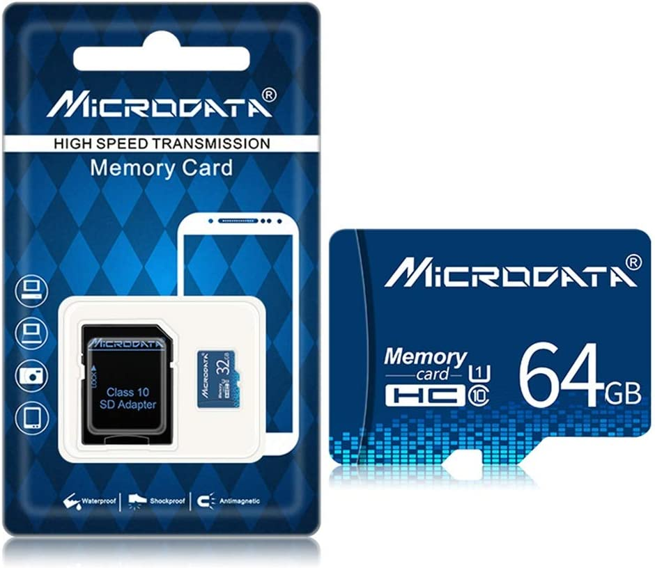 FSM88 Microsdxc with V30 High Speed Card Reader Memory Card Optional 32G 64G 128G Suitable for Monitoring Equipment//Driving Recorder//Card Speaker,128G