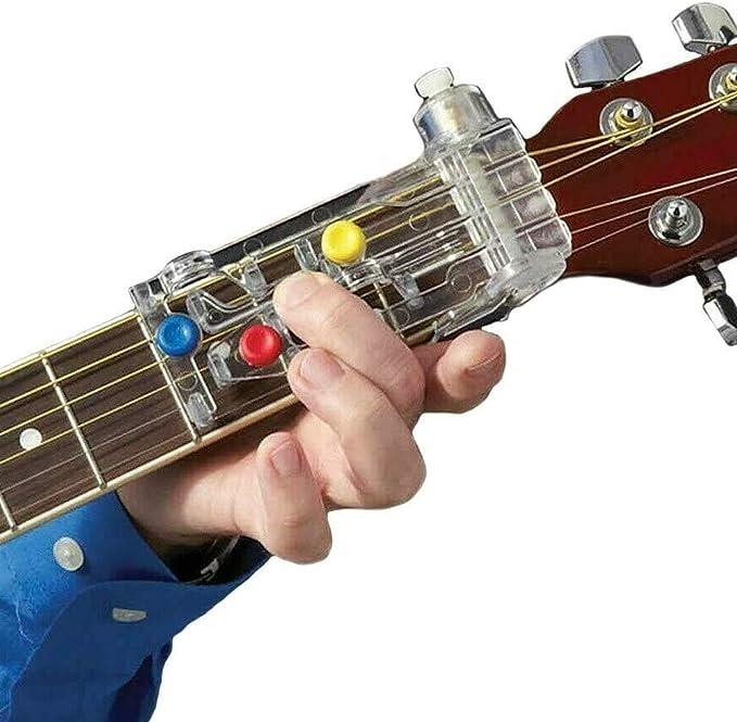 Sistema de aprendizaje de guitarra Entrenador de acordes de ...