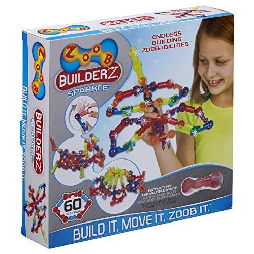ZOOB BuilderZ Sparkle 60 Piece Kit