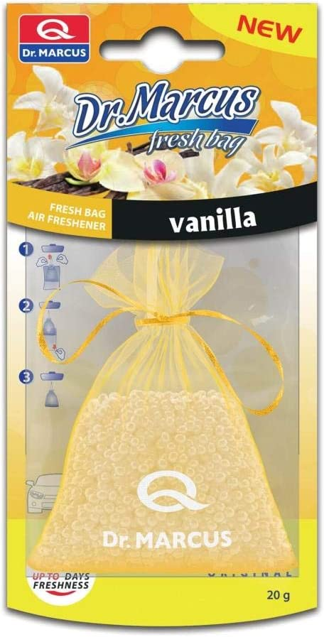Sumex Suministros Exteriores Sa Dr Marcus Lufterfrischer Fresh Bag Vanille 20 G Auto