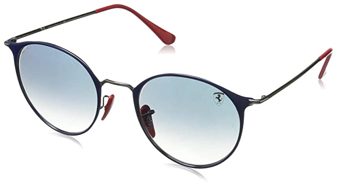 Ray-Ban 0RB3602M Gafas de sol, Gunmetal On Top Blue, 51 ...