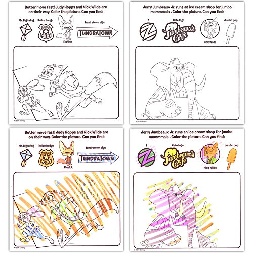 No Mess Art Mess-Free Coloring Book with Magic Invisible Ink ...