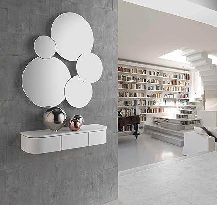 ch design recibidores modernos consola mia blanca