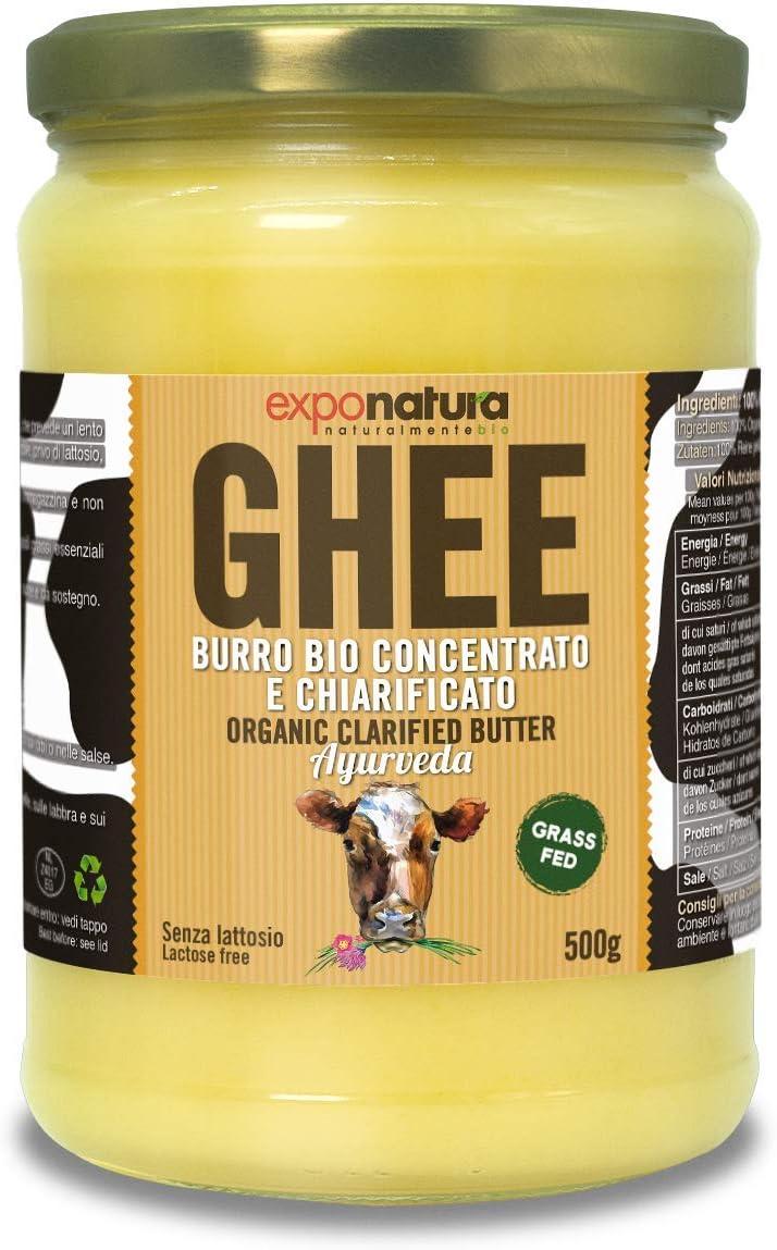 Ghee biologico 500g - burro chiarificato secondo l'antica ricetta ayurvedica