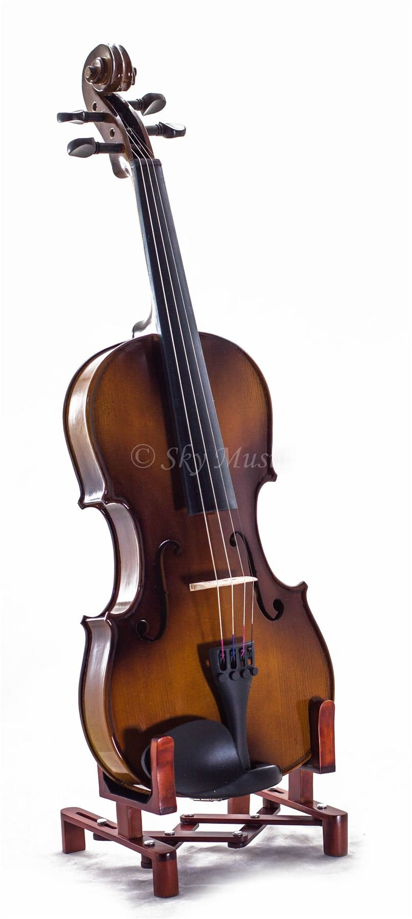 SKY 4/4 Full Size SKYVN201 Solid Maple Wood Violin by Sky (Image #2)