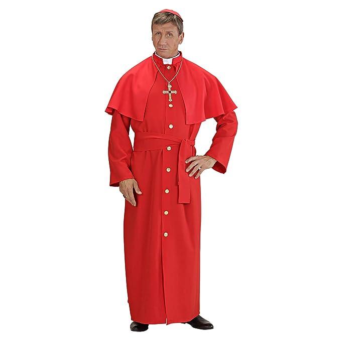 WIDMANN Widman - Disfraz de vicario sacerdote adultos, talla S (UK ...