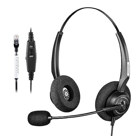 Amazon Arama Corded Headset With Microphone Volume Mute