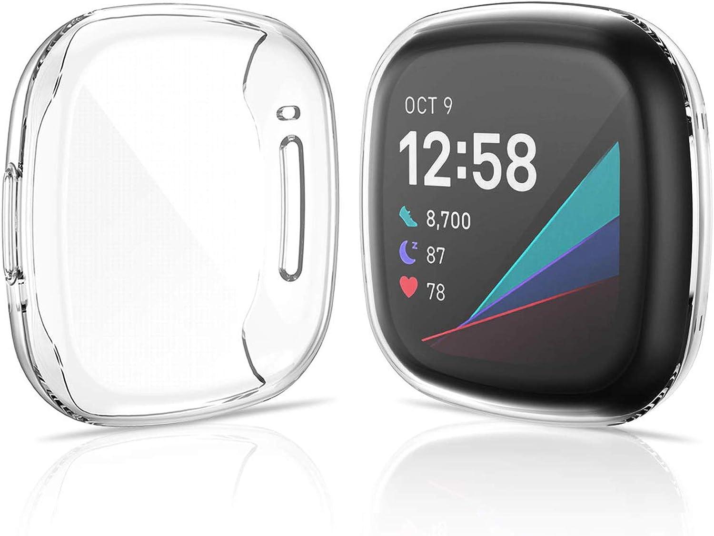 Kimilar 2 Stücke Schutzhülle Kompatibel Mit Fitbit Sense Versa 3