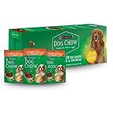 Dog Chow Alimento Húmedo Adultos Razas Pequeñas Carne, Paquete con 20 Piezas, 100g