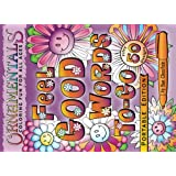 OrnaMENTALs Feel Good Words To-Go: 50 Portable Feel Good Words to Color and Bring Cheer (Volume 5)