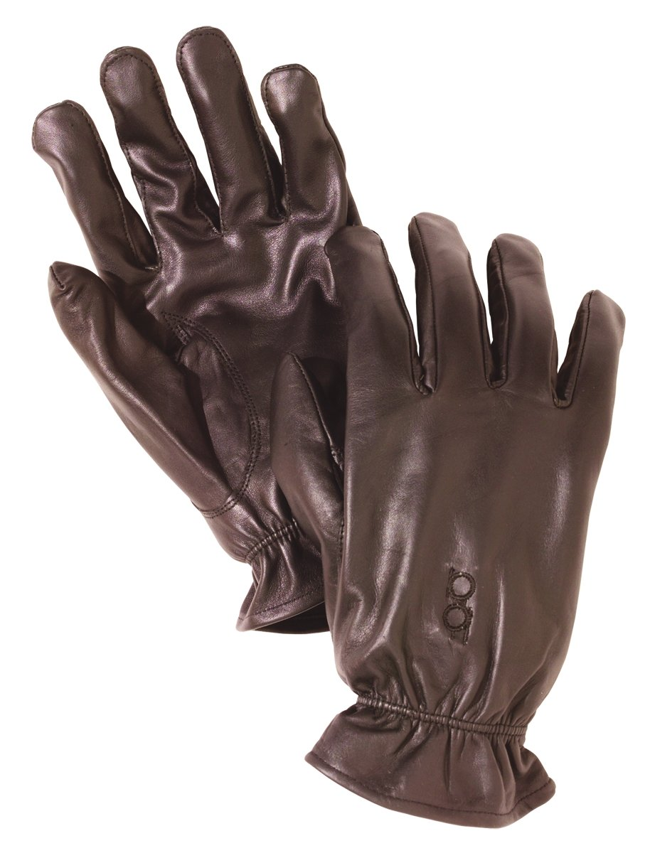 Bob Allen Leather Unlined Gloves (Brown, Large) by Unknown