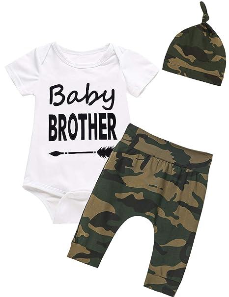 Amazon.com: Juego de 3 piezas de ropa para bebé y niño, para ...