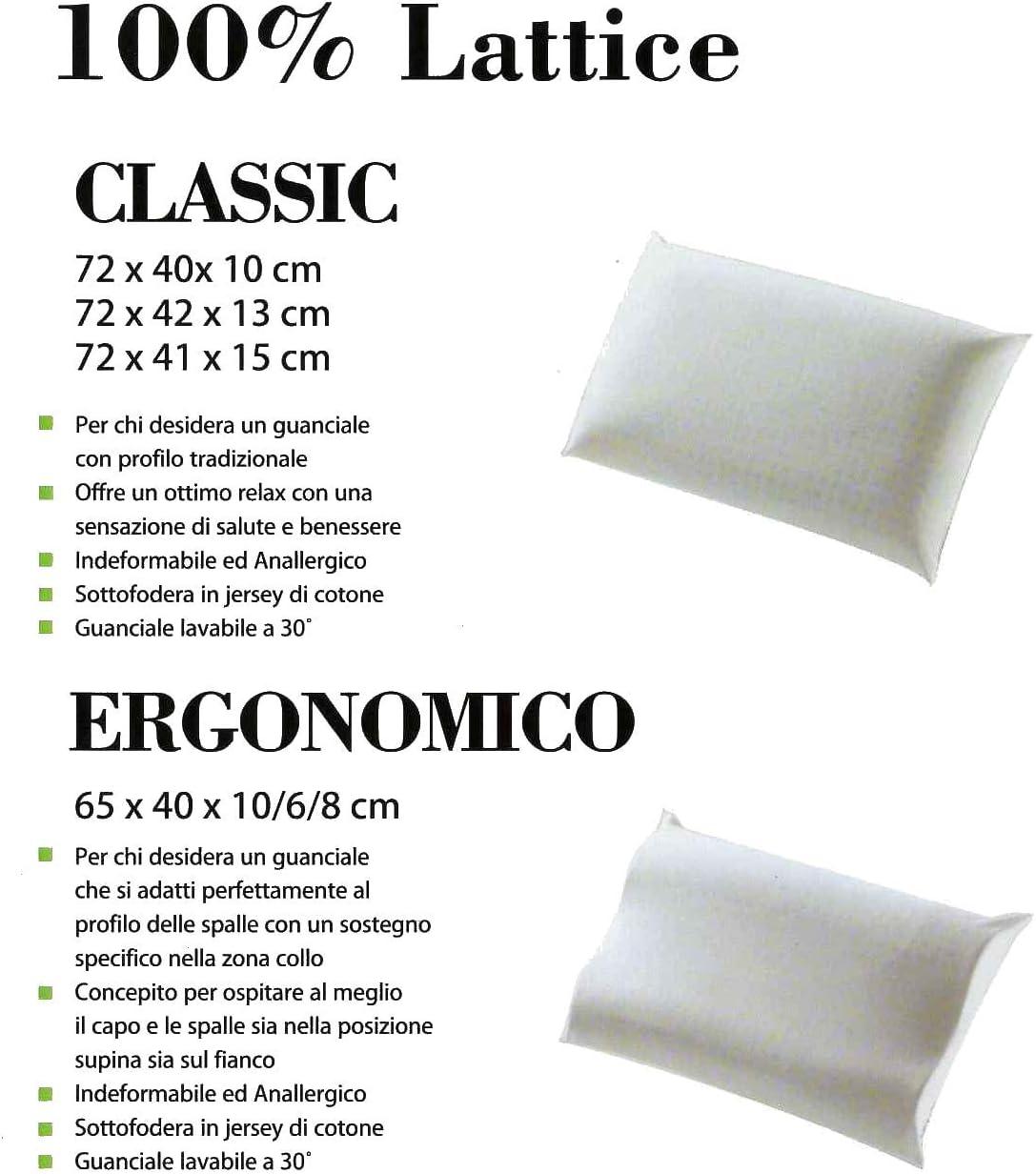 Offerta Cuscino Guanciale In Lattice 100 H13cm Sapsa Bedding Ex Pirelli Bedding Casa E Cucina Tessili Per La Casa Espacesvt Com