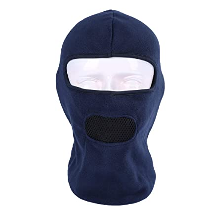 Glumes Fleece Face Mask Windproof Sun Dust Cold Snow Rain Protection Solid  Color Tactical Mask Bandana 4235227a2