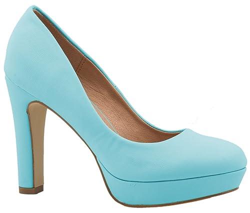 Elara – Modernos zapatos de tacón de aguja con plataforma ... 1feea547e64e