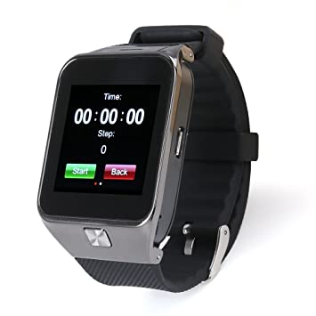 Flylinktech® M9 Montre Connectée Bluetooth Sport Supporte Carte SIM Smartwatch Podomètre Smart Watch Antiperte Montre