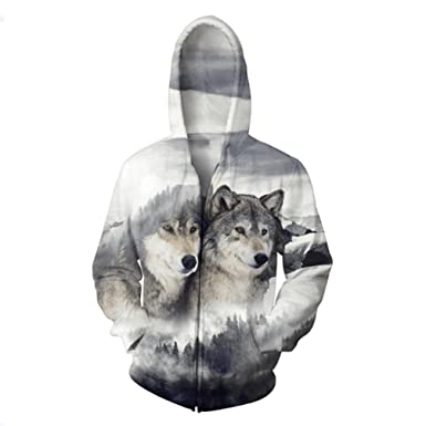 Yuehen Brand Jacket Men New Outwear Coats Chaquetas Hombre 3D Wolf Plus Size Clothing Casual Mens