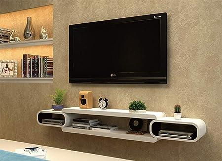 XINGPING-Shelf - Mueble de Pared para Sala de Estar, para Colgar en la Pared, Redondo, para TV, Estante de Pared, combinación Creativa, Pintura de partición: Amazon.es: Hogar