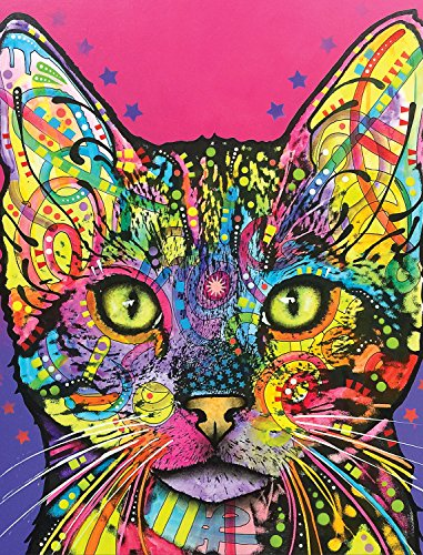 Dean Russo Shiva Cat Journal: Lined Journal (Quiet Fox Designs) 144 High-Quality, Acid-Free Lined Pages for a Dream Diary or Journaling, with Vibrant Cover Art from Brooklyn Pop Artist Dean Russo ()