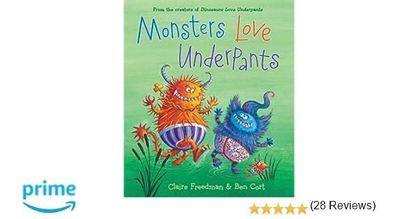 Amazon.com: Monsters Love Underpants (The Underpants Books ...