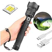 AKKU COB+XPE LED Taschenlampe Arbeitslampe Magnet Leuchte Handlampe Baustrahler