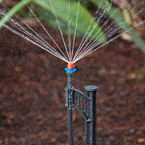 DIG 700 Sq. Ft. Coverage Easy to Install Automatic Lawn Watering Drip Irrigation and Micro Sprinkler System Kit (124 Pieces Including Instruction) by >>>> (Image #2)