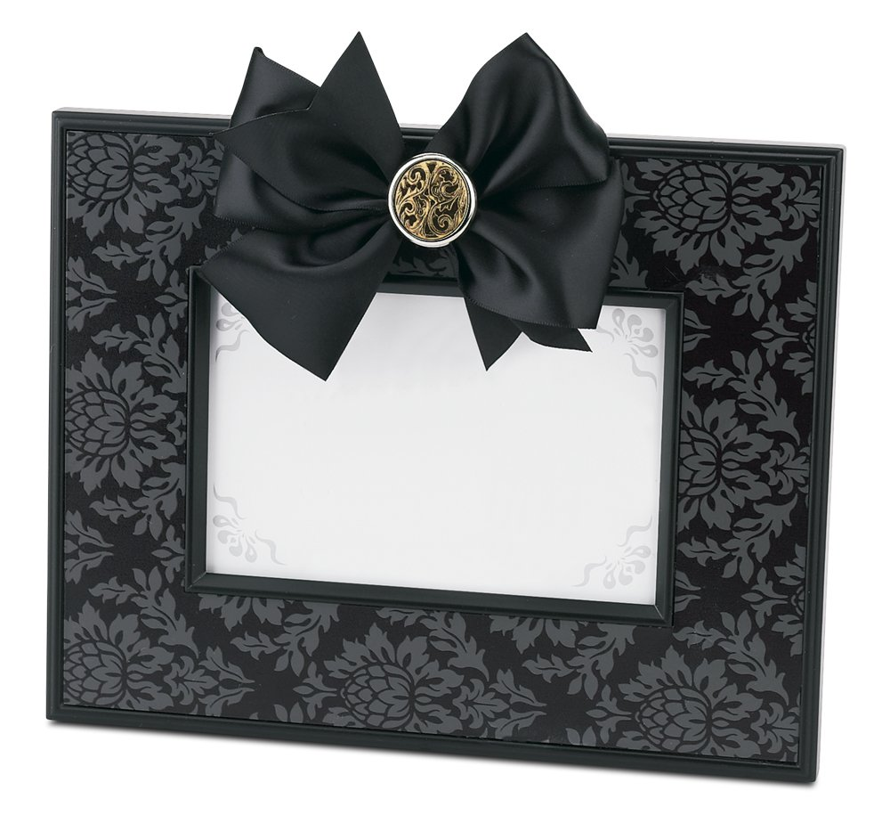 Bearington Fancy That Frame, Black Damask Magnetic Photo Frame 4