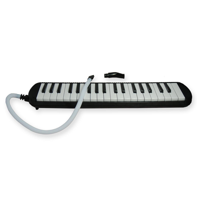 Tuyama® TMD-137 Melodica Negro Con boquilla y manguera de soplado, Incluye una bolsa para transporte (37 teclas): Amazon.es: Instrumentos musicales