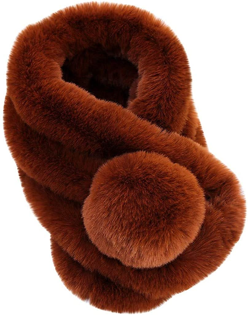 SPORTTIN Women's Fur Collar...