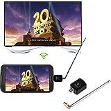 Hongfei DVB-TデジタルモバイルTVレシーバー、マイクロUSB DVB-T TVチューナーレシーバー(AndroidスマートフォンタブレットPC HDTV用)