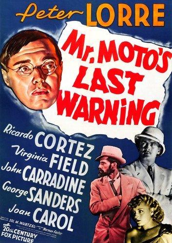 Mr. Moto's Last Warning - Montague Reel