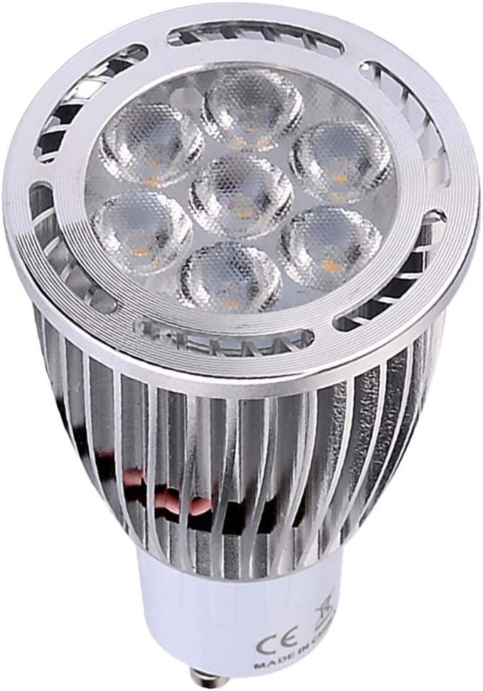 Color : AC 220-240V, Size : Warm White 10Pcs CNBEAU-LED GU10 LED Spotlight Bulbs 7W SMD 3030 600-700 LM Warm White//Cool White Frosted AC 85-265V AC 220-240V AC 110-130V