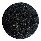 Mercer Industries 521600 Hook & Loop Waterproof Disc, Silicon Carbide, 5'' x No Dust Holes, Grit 600C, 50 Pack