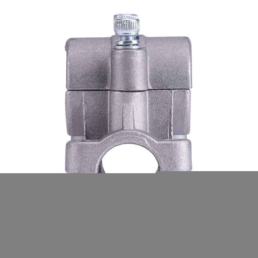 Abrazadera de la abrazadera del de la desbrozadora, abrazadera de la abrazadera de la manija de aleación de aluminio de 26/28 mm Segadora de mano para ...