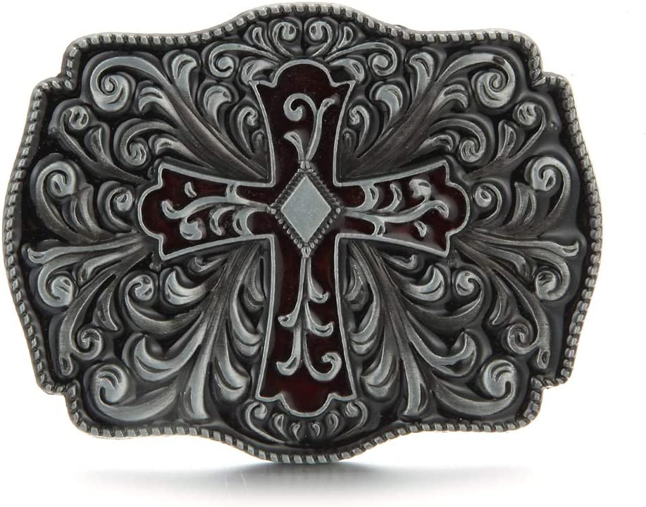 American Indian Vintage Western Cowboy Style Belt Buckle For Women Men