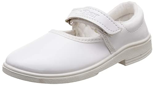 2f2a829b48dfd Unistar Women s White Leather Flip-Flops-2 UK India (33 EU) (E ...