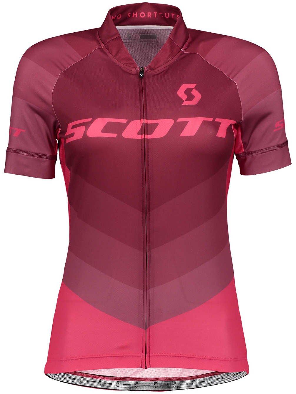 Scott RC Pro Damen Fahrrad Trikot kurz rot//pink 2018