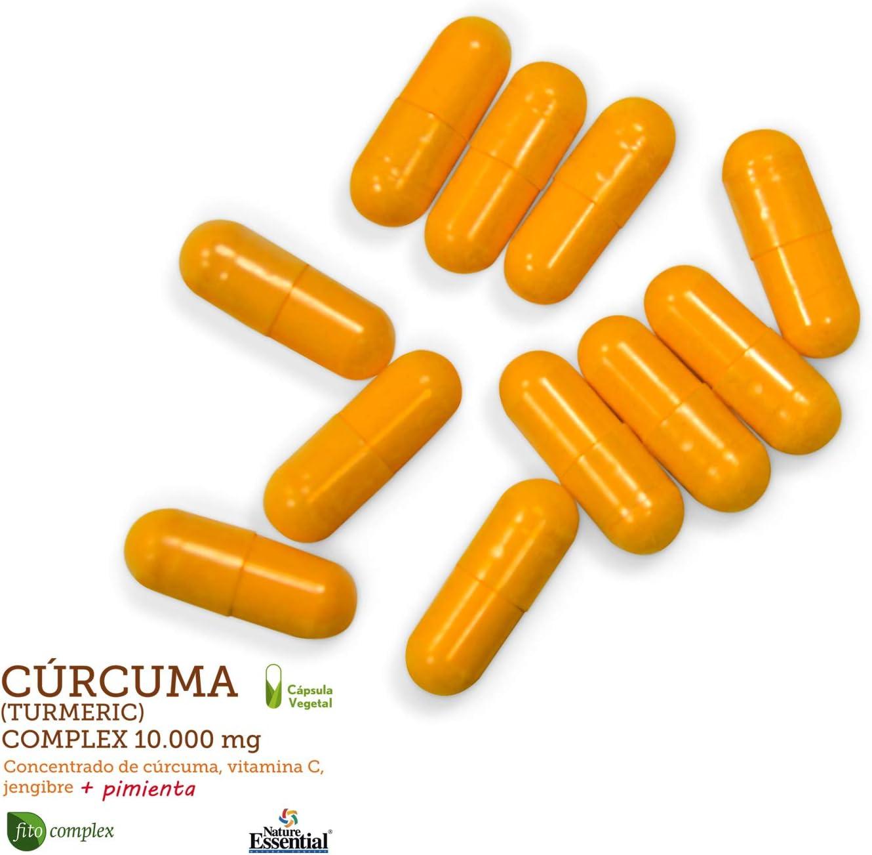 Cúrcuma complex 10.000 mg con extractos seco de cúrcuma, jengibre ...