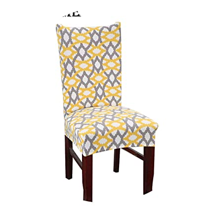 Peachy Amazon Com Black Cat Chair Cover Fish Bones Printed Elastic Gmtry Best Dining Table And Chair Ideas Images Gmtryco