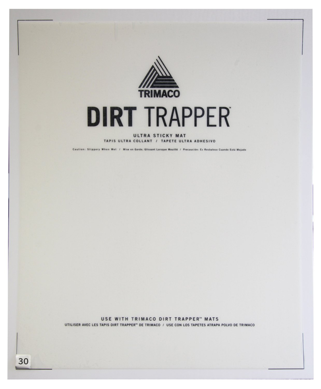 Dirt Trapper Ultra Sticky Mat - 30 layer refill by Trimaco (Image #2)
