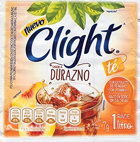 Amazon.com : Clight (Mandarina) Powdered Drink Mix 1 Liter (Pack of 18) with Tesadorz Resealable Bags : Grocery & Gourmet Food