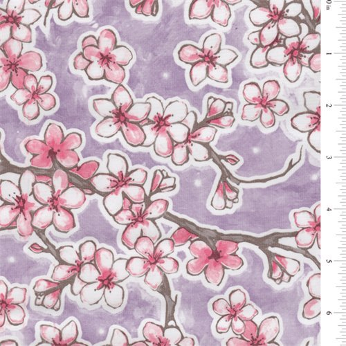 Dogwood Oilcloth, Fabric By the Yard ()