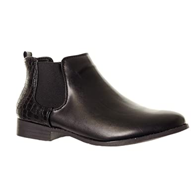 Women s Flat Chelsea Boots Ladies Comfortable Ankle Boots Shoes Footwear  outdoor clothing 9e809d2b3