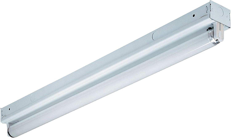 Lithonia Lighting MNS8 1 32 120 RE M6 Lighting Fixture, 4-Foot, T8 lamp